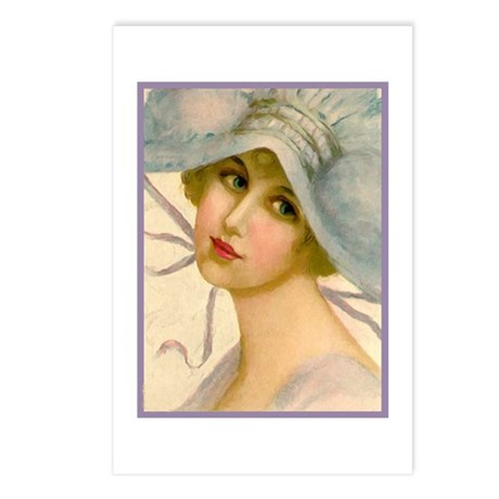 Flapper - Marian Postcards (Package of 8