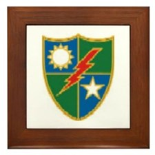 Regimental Crest.. Framed Tile