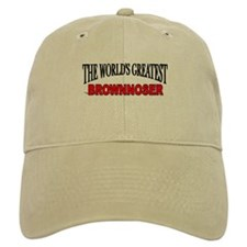 """The World's Greatest Brownnoser"" Baseball Cap"