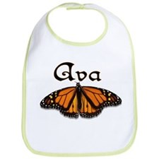 """Ava Monarch Butterfly"" Bib"