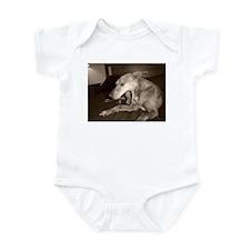Puppy Yawn Infant Bodysuit