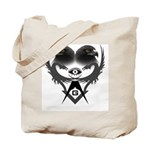 Masonic Eagles over Dragons Tote Bag