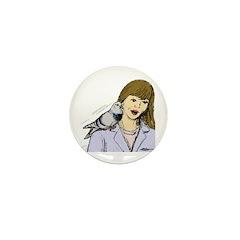 Pigeon Pal Mini Button (100 pack)