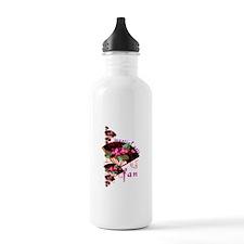 Martial Arts Fan Water Bottle