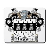 Higgins Coat of Arms Mousepad