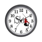 iSki Wall Clock