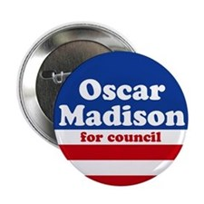 Oscar Madison for Council Button (10 pack)