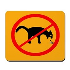 No Cat Vomit Mousepad