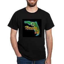 Florida Black T-Shirt