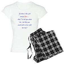 Girl Named Ziva pajamas