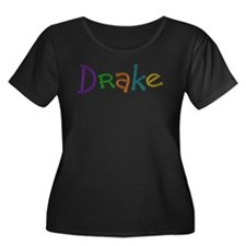 Drake Play Clay Plus Size T-Shirt
