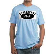 Proud Opa (black) Shirt