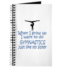 Gymnast...just like Sister Journal