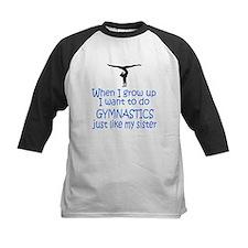 Gymnast...just like Sister Tee