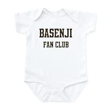 Basenji Fan Club Infant Bodysuit