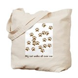 Catprints 2 Tote Bag