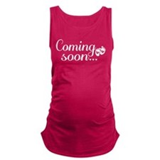Coming Soon - Baby Footprints Maternity Tank Top