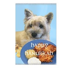 Chanukah Latke Cairn Postcards (Package of 8)