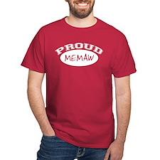 Proud Memaw (white) T-Shirt