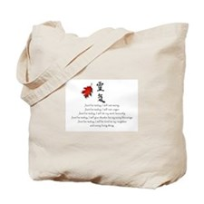 Reiki Principles #1 Tote Bag