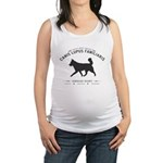 Mans Best Friend Maternity Tank Top