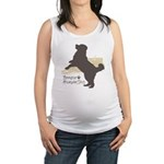 jump.png Maternity Tank Top
