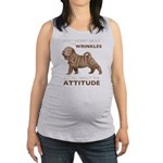 attitude.png Maternity Tank Top