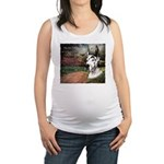 godmadedogs3.png Maternity Tank Top