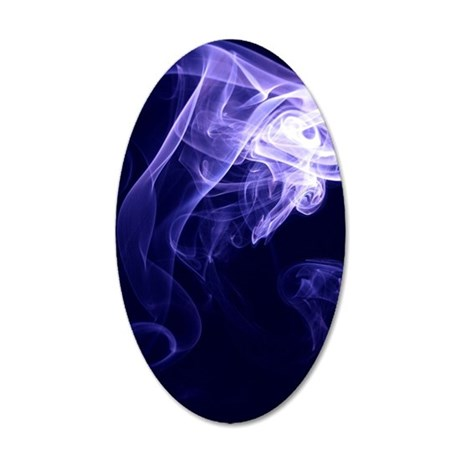 Spirit Blue 35x21 Oval Wall Decal