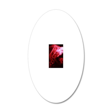 Spirit Red 20x12 Oval Wall Decal