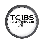 TGIBS -- Basketball Season Wall Clock