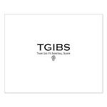 TGIBS -- Basketball Season Small Poster
