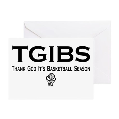 TGIBS -- Basketball Season Greeting Cards (Package