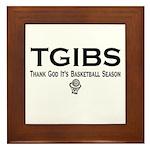 TGIBS -- Basketball Season Framed Tile