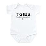TGIBS -- Baseball Season Infant Bodysuit