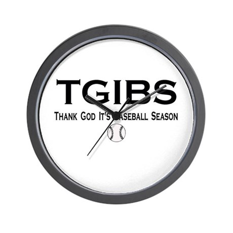 TGIBS -- Baseball Season Wall Clock