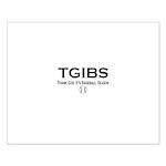 TGIBS -- Baseball Season Small Poster