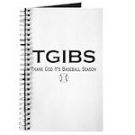 TGIBS -- Baseball Season Journal