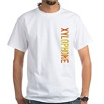 Stamp Xylophone White T-Shirt