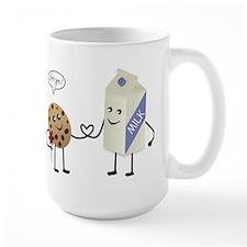 Cute Couple Showing Love Mug
