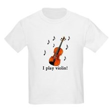 I play violin! Kids T-Shirt
