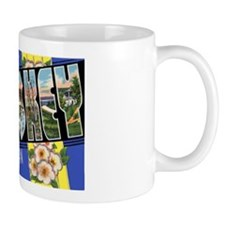 Petoskey Michigan Greetings Mug