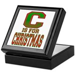 C is for Christmas Keepsake Box
