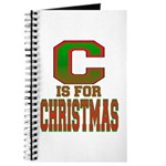 C is for Christmas Journal