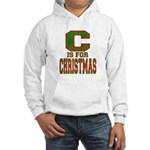 C is for Christmas Hooded Sweatshirt