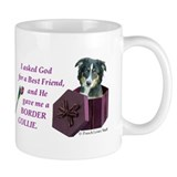 Border Collie (Tri) Small Mug