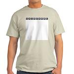 Monogram Sax Ash Grey T-Shirt