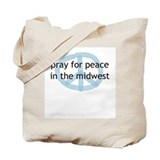 Peace in the Midwest Tote Bag