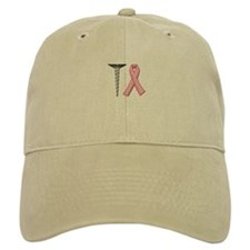 Screw Breast Cancer! Baseball Baseball Cap