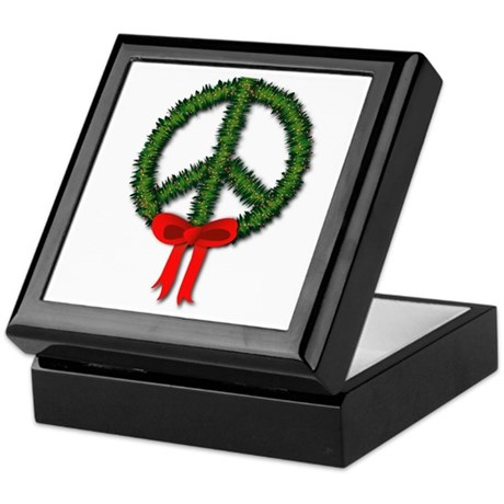 Peace Wreath Keepsake Box